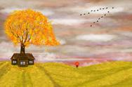 Stock Illustration of autumn illustration