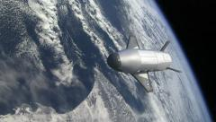 X-37B Spacecraft - stock footage