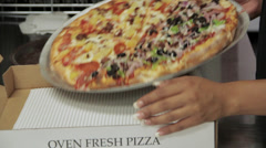 Pizza in box-Apple ProRes 422 (LT) - stock footage