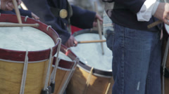 Fife and Drum Stock Footage