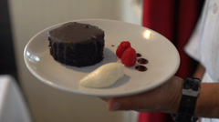 Five star dessert (3 of 3) Stock Footage