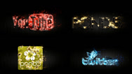 Logo Particular Stock After Effects