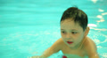 boy in the pool 1 HD Footage