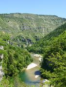 Stock Photo of gorges du tarn