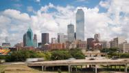 Stock Video Footage of Dallas, Texas, USA, city skyline