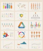 Stock Illustration of Infographic Elements , eps10 vector format