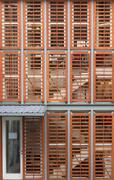 Abstract architectural blinds Stock Photos