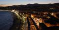 Ultra HD 4K UHD Night Aerial Skyline Nice Luxury Travel Tourism French Riviera 4k or 4k+ Resolution