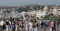 Ultra HD 4K Negresco Hotel Nice Skyline French Riviera People Walk Car Traffic 4k or 4k+ Resolution