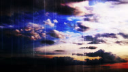 Stock Video Footage of Time lapse clouds grunge