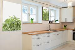 vintage mansion - cooking area - stock photo