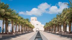 Doha, Qatar, Museum of Islamic Art Stock Footage