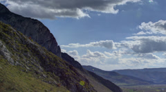 Transylvania Trascau Mountains HDR time lapse HD Stock Footage