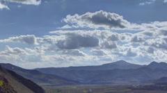 Transylvania landscape HDR time lapse 4K  Stock Footage