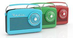 Stock Illustration of vintage radio