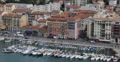 Ultra HD 4K Port Nice Luxury Yachts French Riviera France Sailing Boat Buildings Footage