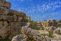 wall malta - stock photo