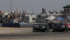 Racing: ALMS 12 Hours of Sebring 2013 Stock Footage