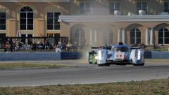Racing: ALMS 12 Hours of Sebring 2013 - stock footage