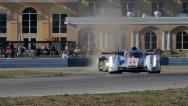 Stock Video Footage of Racing: ALMS 12 Hours of Sebring 2013
