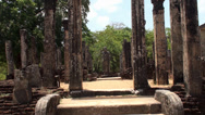 Stock Video Footage of Ancient City of Polonnaruwa. Sri Lanka.