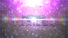 Stock After Effects of Fashion Light Trailer ( Unlimited )