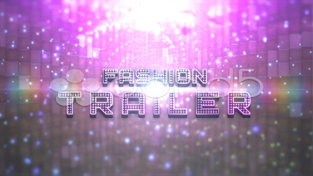 After Effects Project - Pond5 Fashion Light Trailer Unlimited 33206179