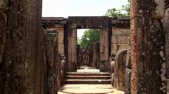 Ancient City of Polonnaruwa. Sri Lanka. Stock Footage
