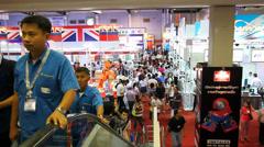Thai metalex  at Bitec Bangna Stock Footage
