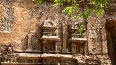 Lankatilaka Image House temple. Stock Footage
