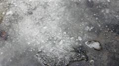 Ice thaw Stock Footage
