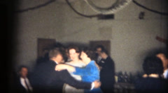 Corporate Christmas party, threesome Stock Footage