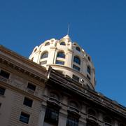 beautiful building in the heart of buenos aires, argentina - stock photo