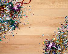 New year's: fun new year's eve background Stock Photos