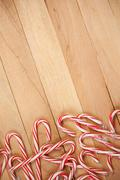 Stock Photo of christmas: candy cane background