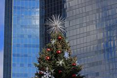 Christmas tree detail Stock Photos