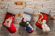 Stock Illustration of Christmas sock