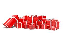 Gifts boxes Stock Illustration