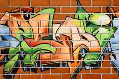 Grafitti painting Stock Photos
