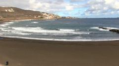 Spain - Gran Canaria - Las Palmas area Stock Footage