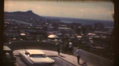 Hawaiian Capitol City - stock footage