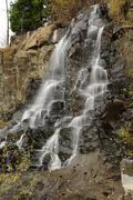 Rocky waterfall Stock Photos