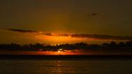 Stock Video Footage of Beach Sunset Timelapse, Mauritius