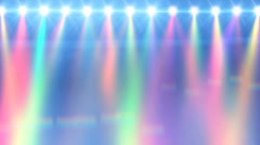 Stage light Stock Footage