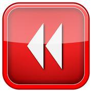 Rewind icon Stock Illustration