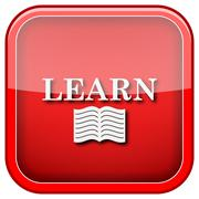 Learn icon Stock Illustration