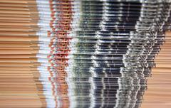accumulation magazine - stock photo