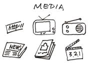 Stock Illustration of media