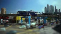 KUALA LUMPUR, MALAYSIA Stock Footage