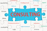 Stock Illustration of consulting concept